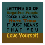 Letting Go ~ 12X12 Poster