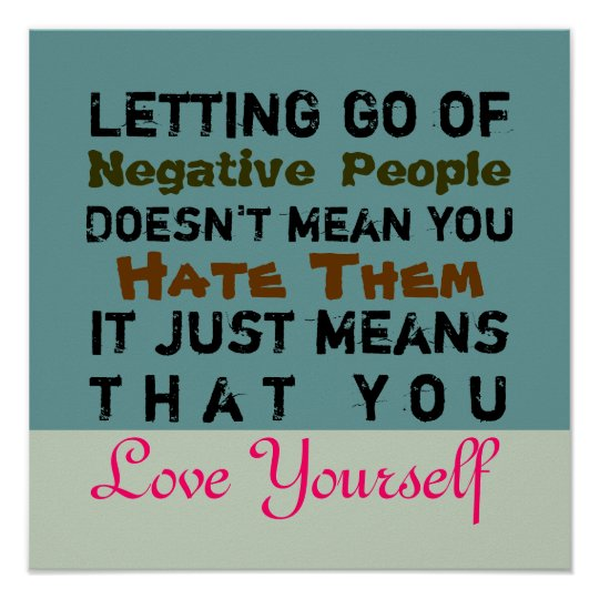 Letting Go ~ 16X16 CHANGE COLOR Poster