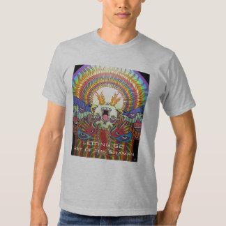 Letting Go ~ Art of The Shaman Tee Shirt