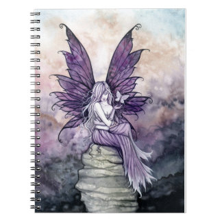 Letting Go Beautiful Fairy Notebook