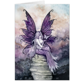 Letting Go Fairy and Butterfly Card