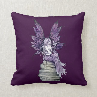 Letting Go Fairy and Butterfly Pillow