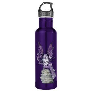 Letting Go Fairy and Butterfly Water Bottle