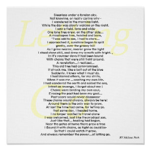 Letting Go Poem Gifts On Zazzle