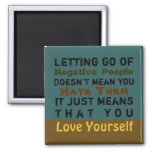 Letting Go ~ Magnet Truism