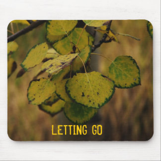 LETTING GO MOUSE MAT