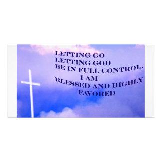 Letting Go_Photo Card Photo Card