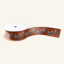 Lettle Bat Satin Ribbon