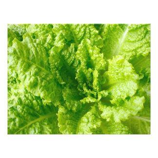 "Lettuce 8.5"" X 11"" Flyer"