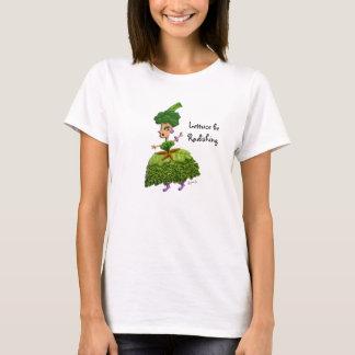 """""""Lettuce be Radishing"""" Lettuce Lady T-Shirt"""