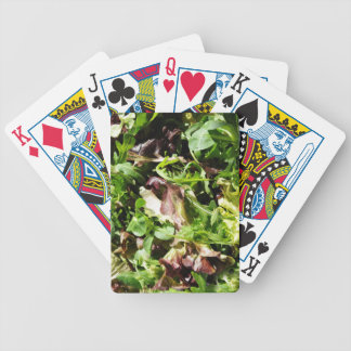 Lettuce Bicycle Playing Cards