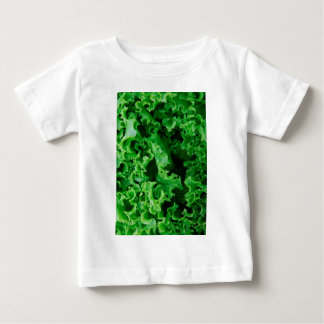 Lettuce Close Up Print - Weird Unique Gift Baby T-Shirt