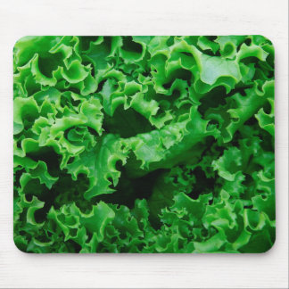 Lettuce Close Up Print - Weird Unique Gift Mouse Pad