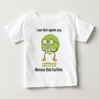 Lettuce Discuss This Baby T-Shirt