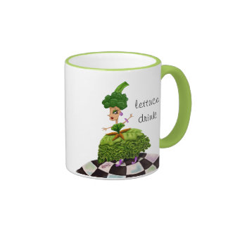 """Lettuce Drink"" Lettuce Lady Mug"