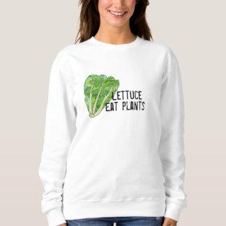 Lettuce Eat Plants Sweatshirt