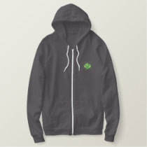 Lettuce Embroidered Hoodie