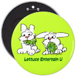 Lettuce Entertain U Cartoon Rabbits Pins