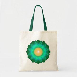 Lettuce Flower Tote Bag