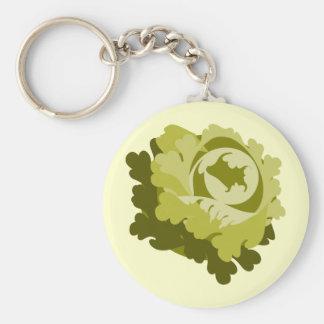 Lettuce Keychain