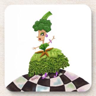 Lettuce Lady Coasters