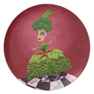 Lettuce Lady Dinner Plate