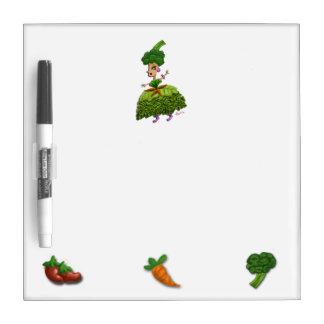 Lettuce Lady Dry-Erase Whiteboards