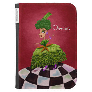 Lettuce Lady Kindle 3G Cover