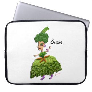 Lettuce Lady Laptop Sleeves