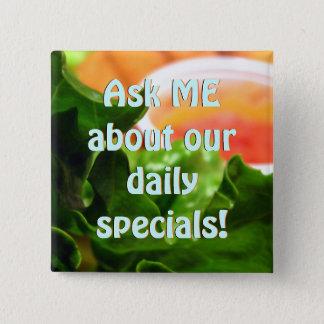 Lettuce Leaf Restaurant Special Flair Pins