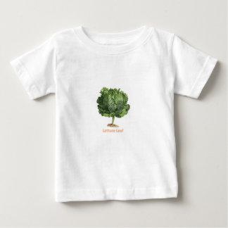 """""""Lettuce Leaf"""" Vintage lettuce image Baby T-Shirt"""