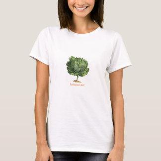 """""""Lettuce Leaf"""" Vintage lettuce image T-Shirt"""