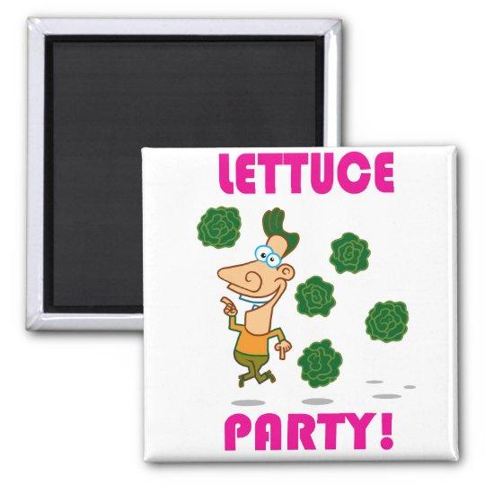 Lettuce PARTY! Magnet