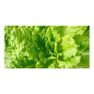 Lettuce Photo Card