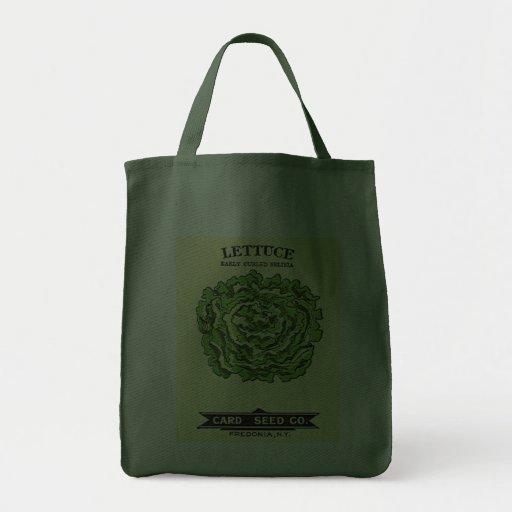 Lettuce Seeds Card Seed Company Bolsas De Mano
