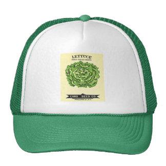 Lettuce Seeds Card Seed Company Gorro De Camionero