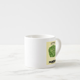 Lettuce Seeds Card Seed Company 6 Oz Ceramic Espresso Cup