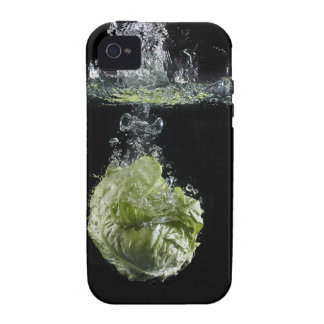 Lettuce splashing in water Case-Mate iPhone 4 covers
