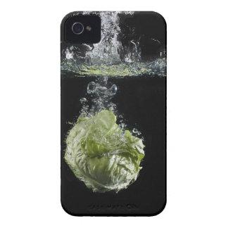 Lettuce splashing in water iPhone 4 cover