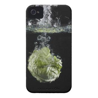 Lettuce splashing in water Case-Mate iPhone 4 case