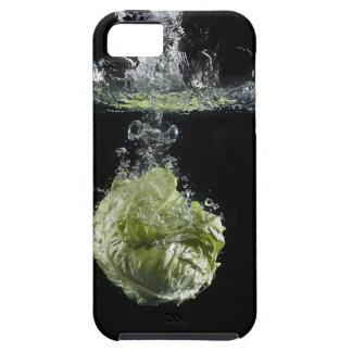 Lettuce splashing in water iPhone SE/5/5s case