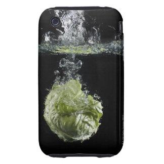 Lettuce splashing in water tough iPhone 3 cover