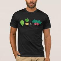 Lettuce turnip beet Turn Up Beat Vegan Pun T-Shirt