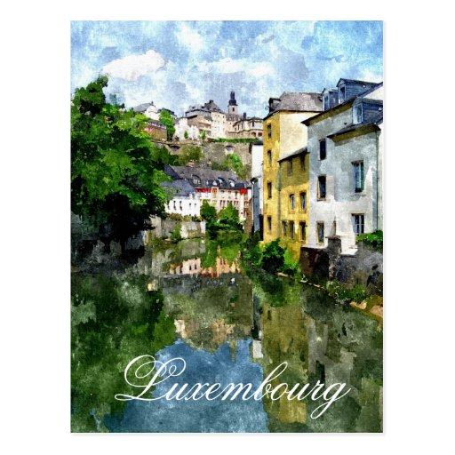 Lëtzebuerg - Luxemburg Post Card
