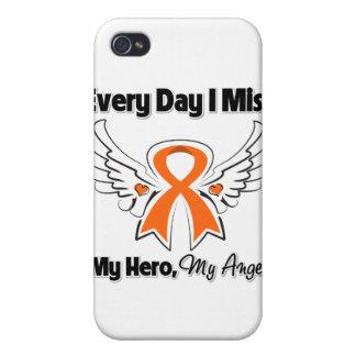 Leucemia cada Srta My Hero del día I iPhone 4 Fundas
