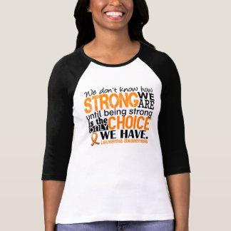 Leucemia cómo es fuerte somos polera