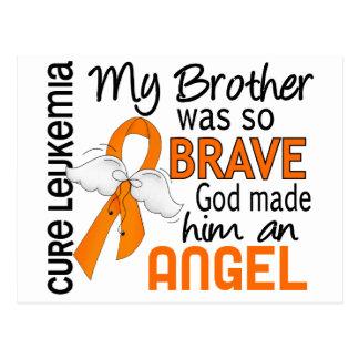 Leucemia de Brother del ángel 2 Postales