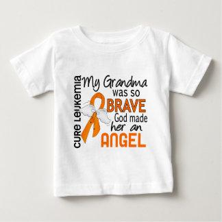 Leucemia de la abuela del ángel 2 playera de bebé