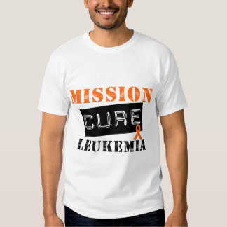 Leucemia de la curación de la misión camisas