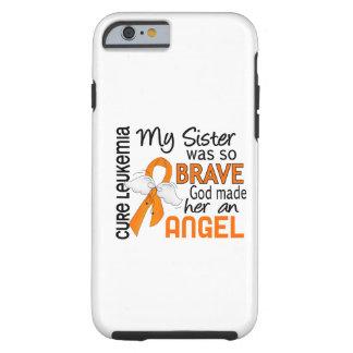 Leucemia de la hermana del ángel 2 funda de iPhone 6 tough